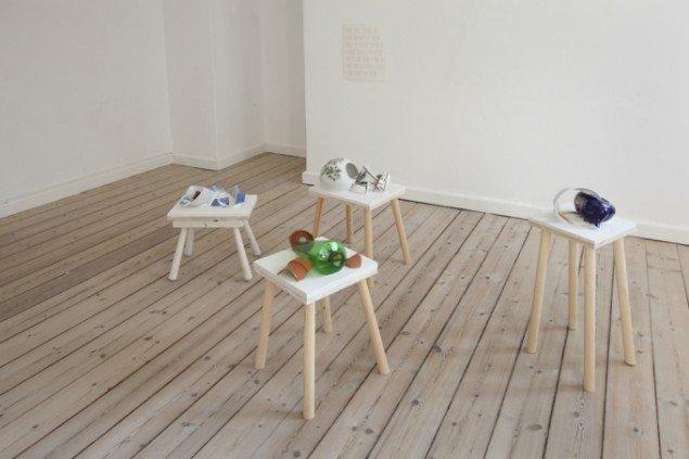 Installationsview fra udstillingen Mellemværender. Foto: Erling Lykke Jeppesen.