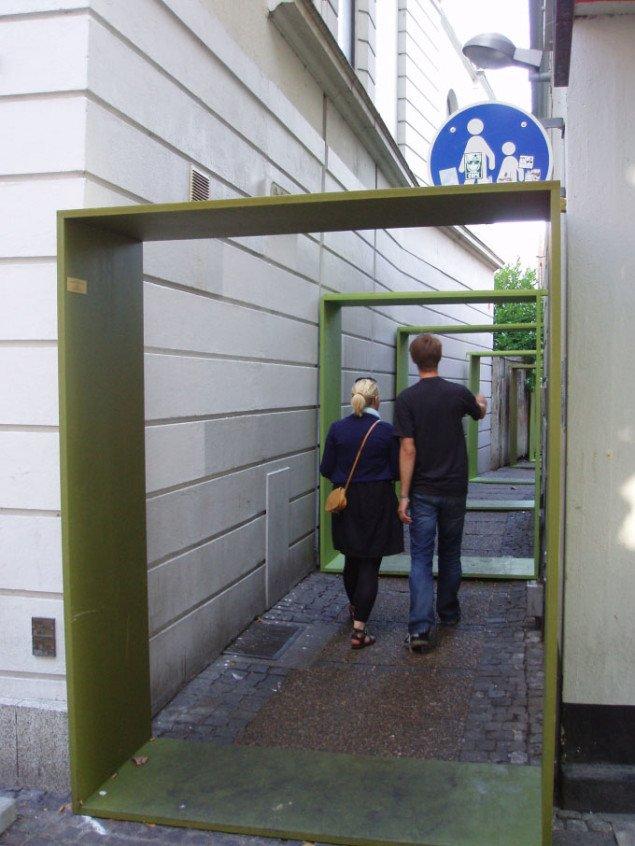 En tur for to i Posthussmøgen gennem Tankestregen, foto: Sidsel Hartlev