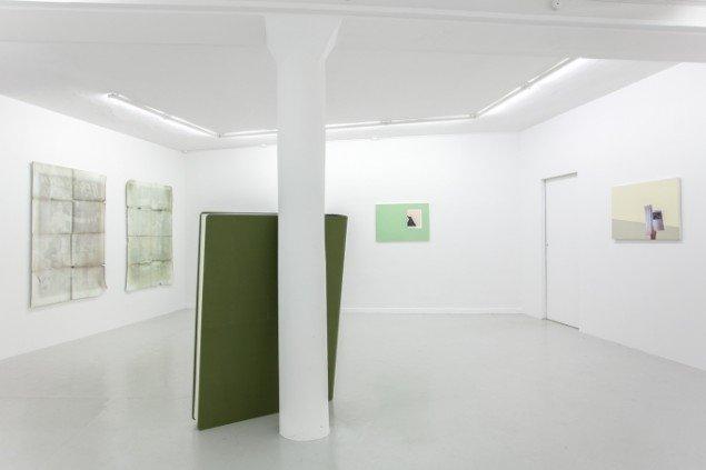 Udstillingsview m/ værker af Lars Morell. På Epiloger, KANT. Foto: Lars Morell