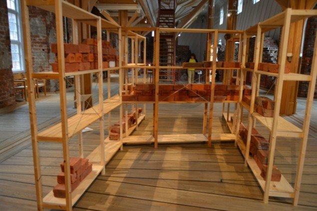 Mie Lund Hansen: Et punkt eller en partikel er nuldimensionel, 2014. På Zimmer Frei, Museet på Koldinghus indtil d. 30/11. Foto: Museet på Koldinghus