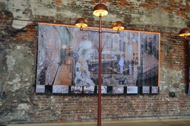Nana Bastrup & Matvey Slavin: Enfants Terribles - Laufbilder, 2014. På Zimmer Frei, Museet på Koldinghus indtil d. 30/11. Foto: Museet på Koldinghus
