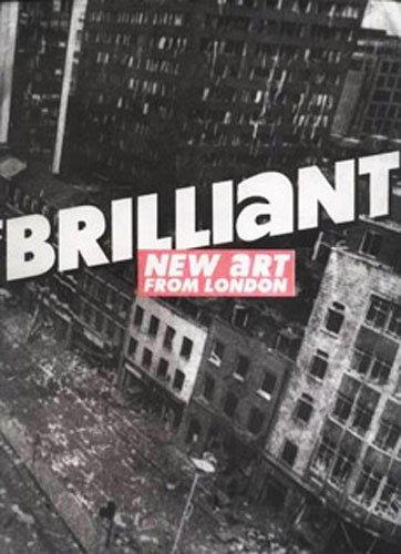 Forsiden af kataloget til Brilliant!-udstillingen (1995) som præsenterede YBA-kunstnerne for et amerikansk publikum.
