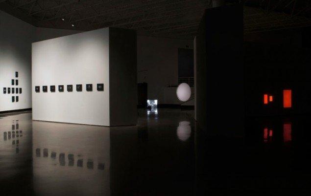Emil Salto: Udstillingsview fra Light Forms, SECCA, North Carolina, US, 2014/2015. Foto: Secca