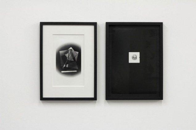 Emil Salto: Blow Up #2 (Egon Salto 1978, Emil Salto 2013), 2013. Direct Print #1 (Egon Salto 1978, Emil Salto 2013), 2013.