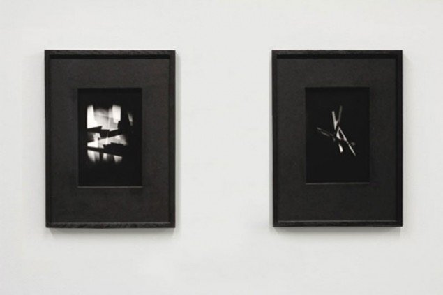 Emil Salto: X-Ray Eyes, Optical Stage-sets for Bauhaus 1919, 2014. Light Forms, SECCA, North Carolina, US, 2014/2015. Foto: Secca