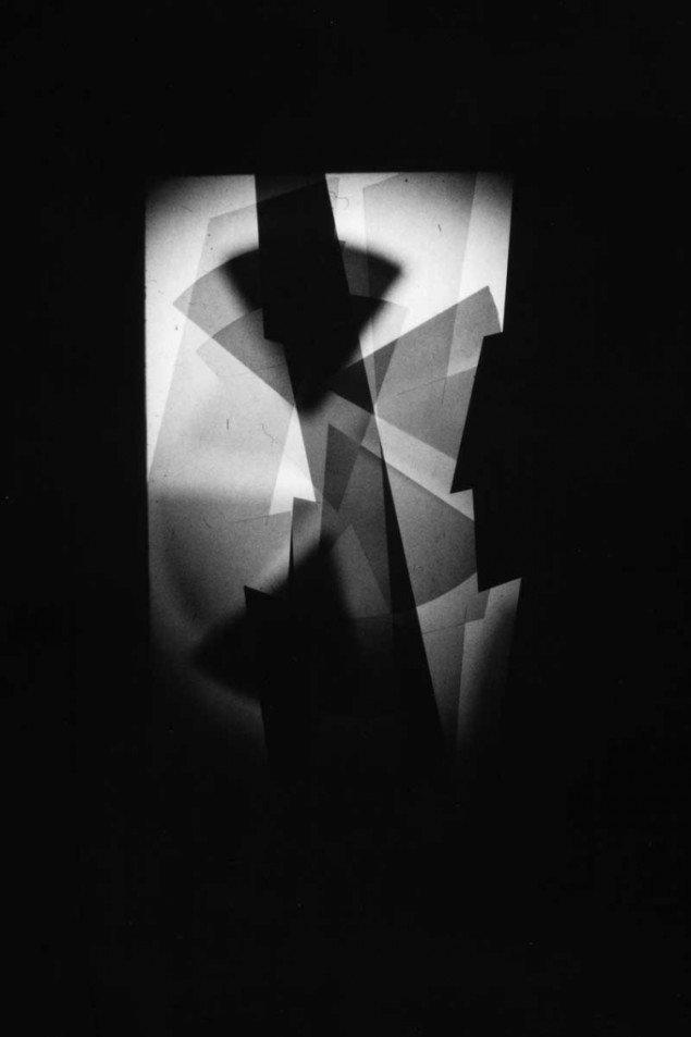 Emil Salto: X-Ray Eyes, Optical Stage-sets for Bauhaus 1919, 2014. Foto: Scan