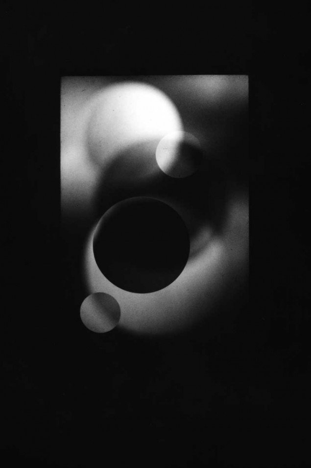 Emil Salto: X-Ray Eyes, Optical Stage-sets for Bauhaus 1919, 2014. Foto: Scan