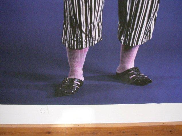 Sokkerne sidder ikke helt rigtigt... Foto: Kurt Nielsen