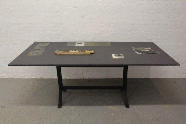 Installationsview fra Nanna Lysholt Hansens udstilling Dear Mary (steel), 2014 på Ringsted Galleriet frem til den 14. dec. Foto: Nanna Lysholt Hansen