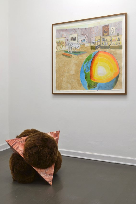 Værk af Mette Vangsgaard & Louise Sparre. På Artist's Choice, Marie Kirkegaard Gallery. Pressefoto