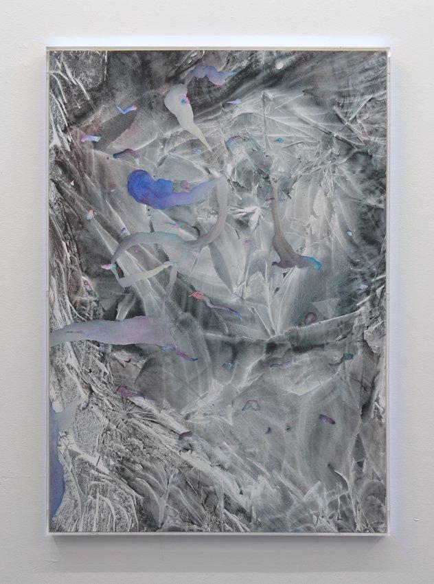 Værk af Silas Inoue. På Artist's Choice, Marie Kirkegaard Gallery. Pressefoto