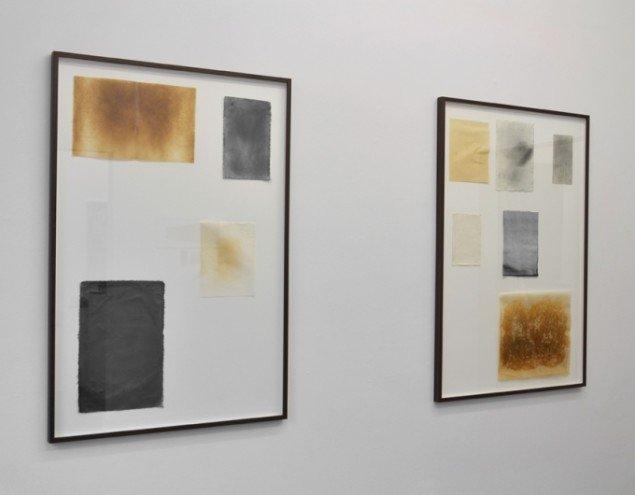 Værker af Rasmus Rosengaard & Marie Søndergaard Lolk. På Artist's Choice, Marie Kirkegaard Gallery. Pressefoto