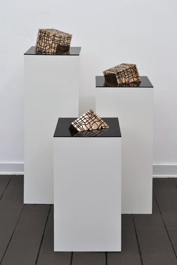Værk af Toke Flyvholm. På Artist's Choice, Marie Kirkegaard Gallery. Pressefoto
