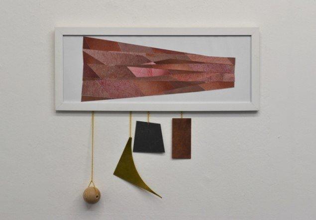 Værk af Louise Sparre. På Artist's Choice, Marie Kirkegaard Gallery. Pressefoto