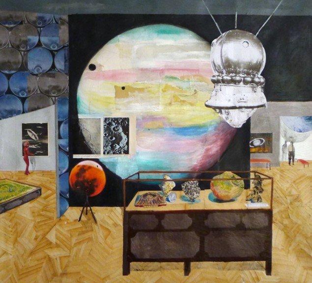 Værk af Mette Vangsgaard. På Artist's Choice, Marie Kirkegaard Gallery. Pressefoto