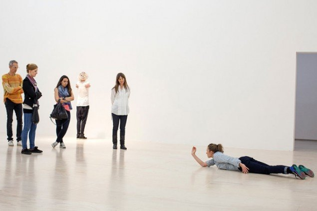 Xavier Le Roy. Retrospective. 2014. MoMA PS1. (Foto: Matthew Septimus)