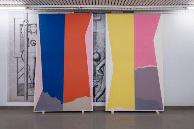Udstillingsview med værker af Malene Landgreen. Courtesy Galleri Tom Christoffersen og Anders Sune Berg.