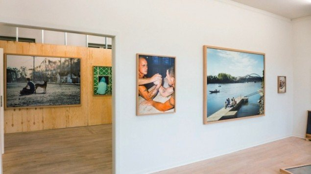 Peter Funch: Last Flight. Installationsview fra udstillingen New York, New York på Viborg Kunsthal frem til 1. februar 2015. Foto:  Bertel Stokholm