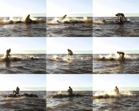 Antti Laitinen: It's My Island, 2007, video stills