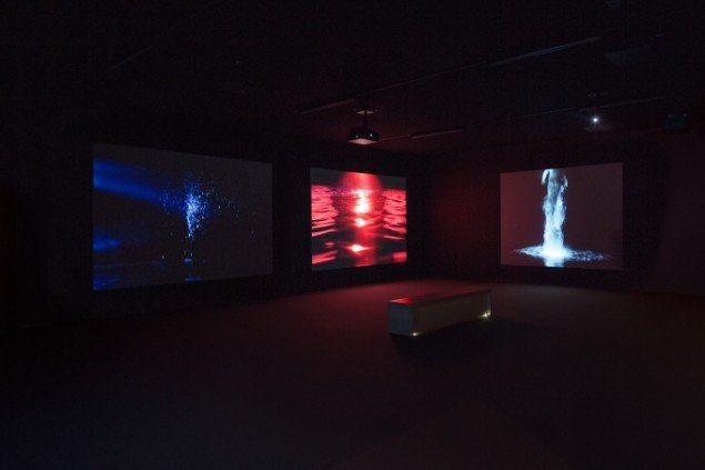 Bill Viola: Five Angels for the Millennium, 2001. Foto: Anders Sune Berg, Aros