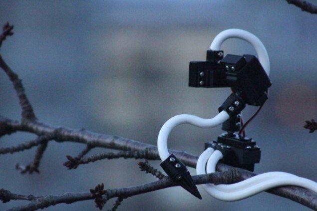 Ian Ingrams' robot klar til at møde danske husskader. (Foto: Ian Ingram)