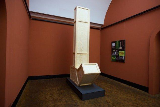 Installationsview af BIXI tall fra udstillingen SKILDPADDE-ARKIVET, 2014 på Faaborg Museum til den 1. marts. Foto: Torben Glarbo