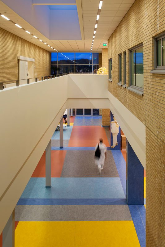 Udsmykning af en af hospitalets gange. Foto: Dorthe Krogh.