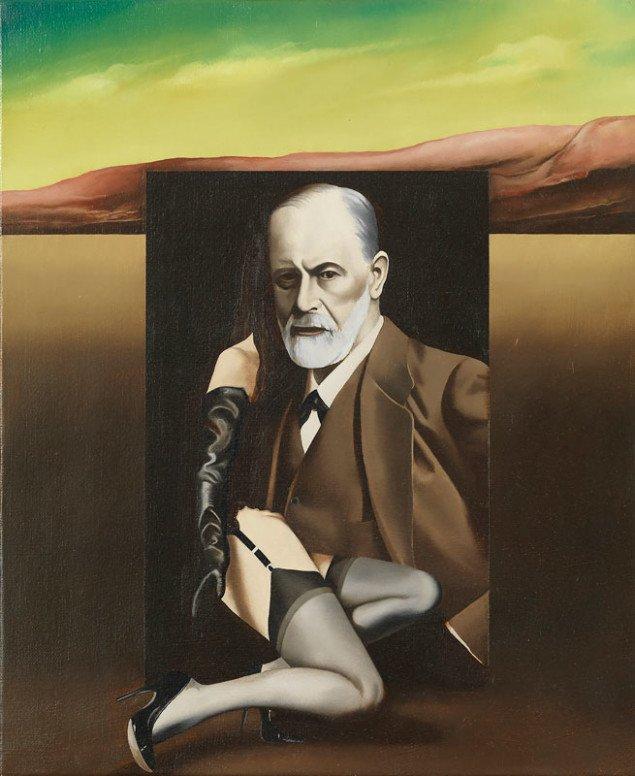 Hans Henrik Lerfeldt: Freud landskab, 1978. (privateje)