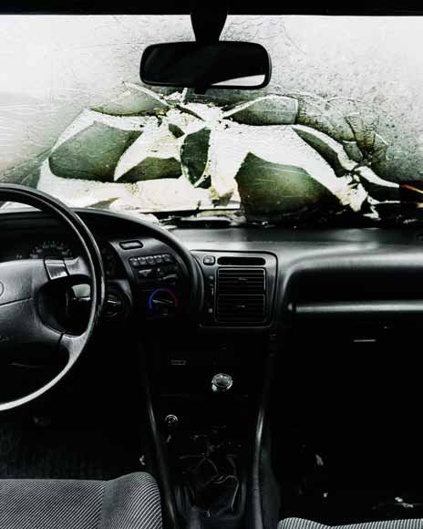 Nicolai Howalt: Car Crash Studies. Interior #2, 2009