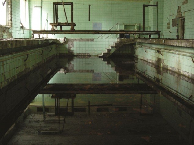 Jacob Kirkegaard: Swimming Pool, from AION, Chernobyl, Ukraine, 2005.