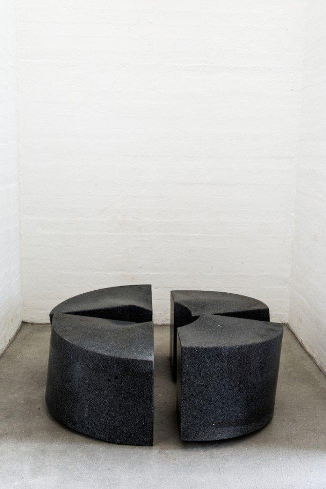 Poul Bækhøjs skulpturer installeret på udstillingen GENERATOR, 2015, Kunsthal Nord indtil 22. februar. Foto: Niels Fabæk