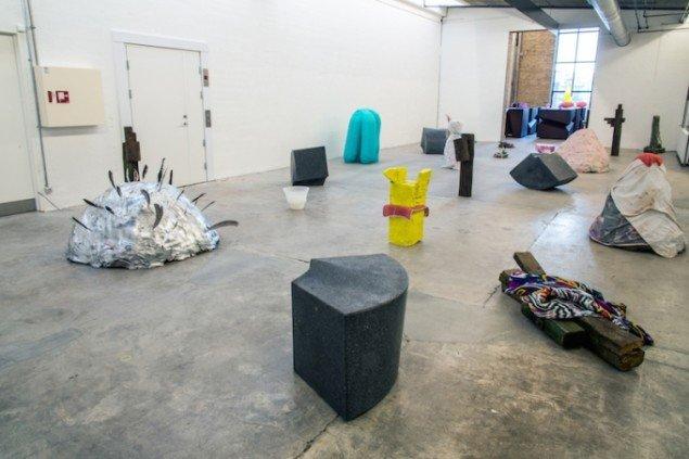 Installationsview fra udstillingen GENERATOR, 2015 på Kunsthal Nord til 22. februar. Foto: Niels Fabæk