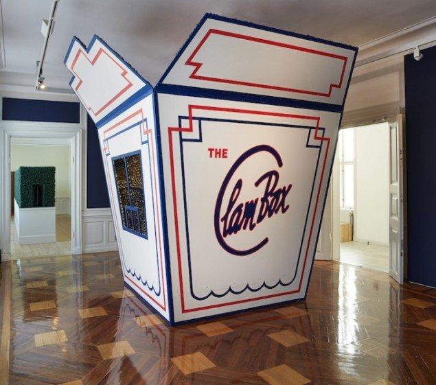 Randi & Katrine: The Clam Box, 2013. Fra udstillingen The Clam Box - Come Back to Pleasure på Gl Holtegaard, 2013. Foto: Jan Søndergaard