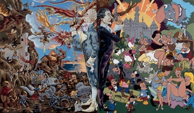 Martin Bigum: Sacred & Profane, 2003. Marc Blondeau Collection, Schweiz. Pressefoto