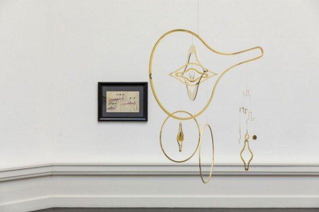 Installationsview, Carol Rama og Kirstine Roepstorff. (Foto: Lior Zilberstein)
