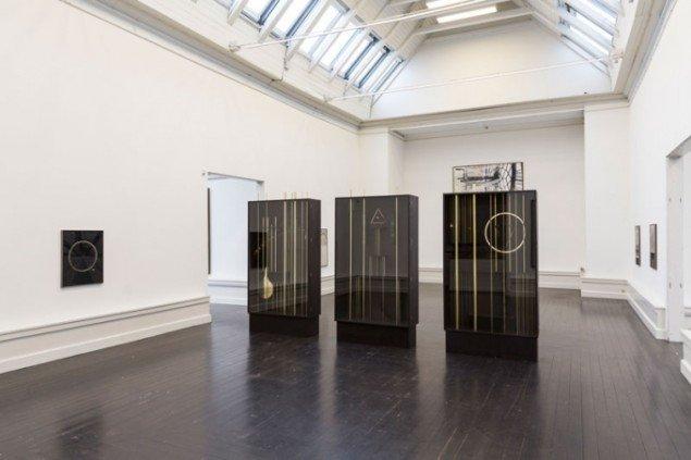 Installationsview, Kirstine Roepstorff. (Foto: Lior Zilberstein)