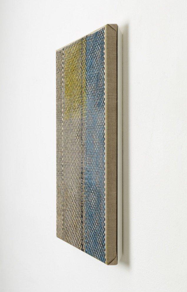 Værk uden titel på udstillingen Intérieur, Danske Grafikeres Hus, 2012. Foto: Anders Sune Berg