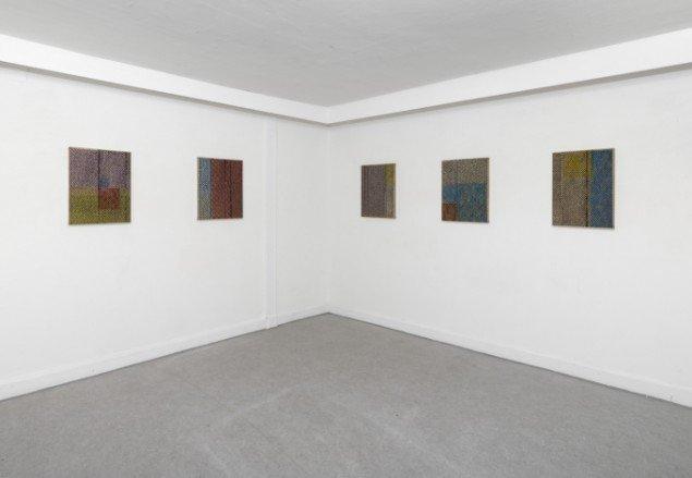 Installationsview fra udstillingen Intérieur på Danske Grafikeres Hus, 2012. Foto: Anders Sune Berg