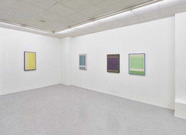 Installationsview fra udstillingen Ni Nye Værker hos Galleri KANT frem til 7. marts 2015. Foto: Anders Sune Berg