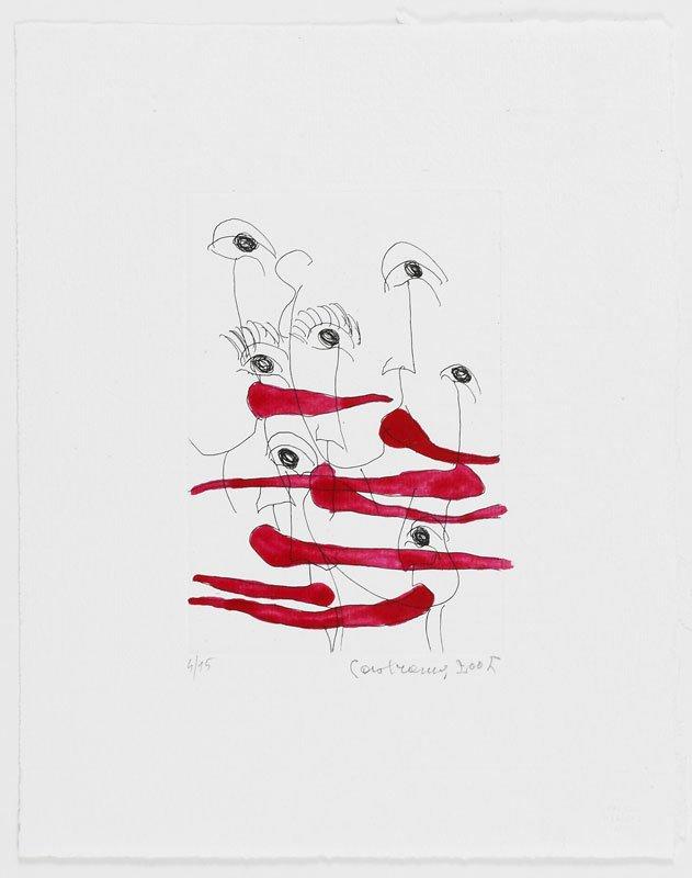 Carol Rama: Lingue, 2005.