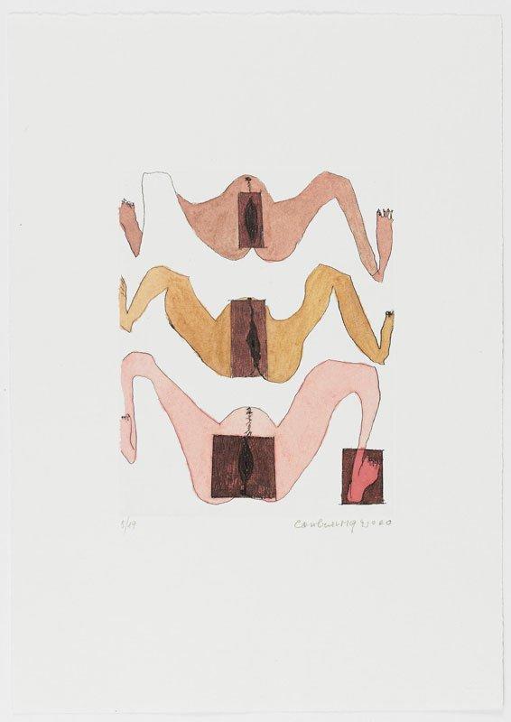 Carol Rama: Cadeau, 2000.