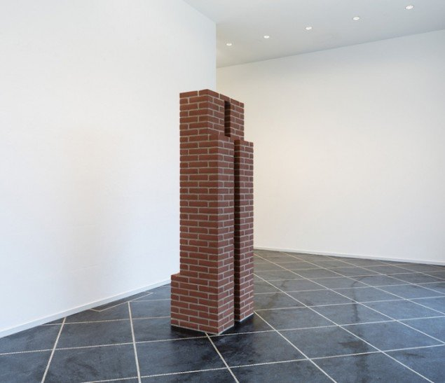 Per Kirkeby: Untitled, 1987 på Galleri Susanne Ottesen til 14. marts. Foto: Anders Sune Berg