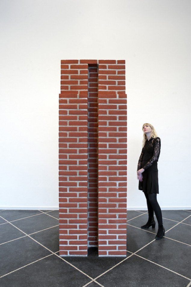 Per Kirkeby: Untitled, 1987 på Galleri Susanne Ottesen til 14. marts. Foto: Stine Heger