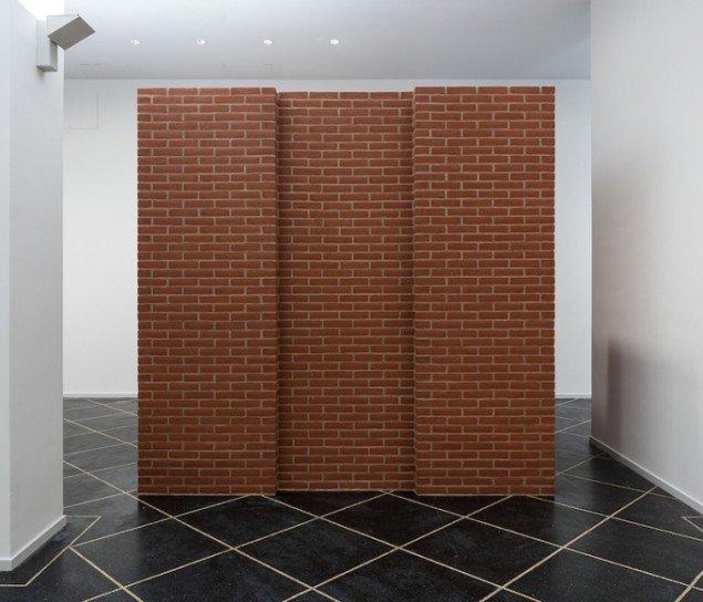 Per Kirkeby: Untitled, 2014 på Galleri Susanne Ottesen til 14. marts. Foto: Anders Sune Berg