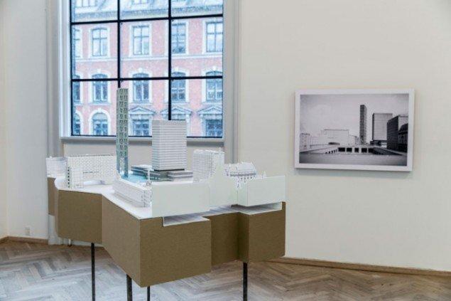 Fredrik Lønows arkitektoniske undersøgelser. (Foto: Marc Fluri)