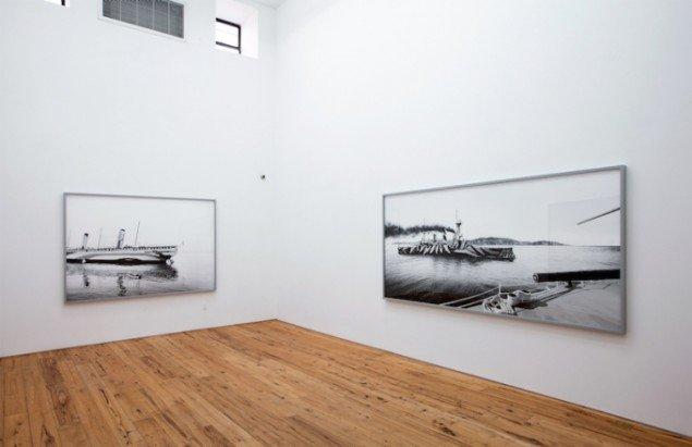 Installationsview fra seperatudstilling ved MARC STRAUS, New York, 2014. Foto: Thomas Bangsted