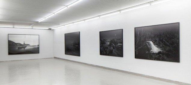 Installationsview fra seperatudstilling ved Galleri Tom Christoffersen, København, 2012. Foto: Alec Due