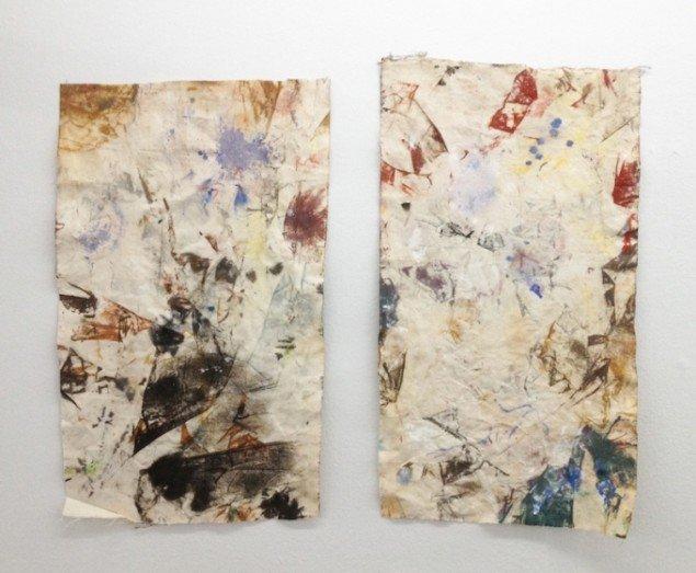 Svend Danielsen: begge Untitled, 2015. Foto: Galleri Tom Christoffersen