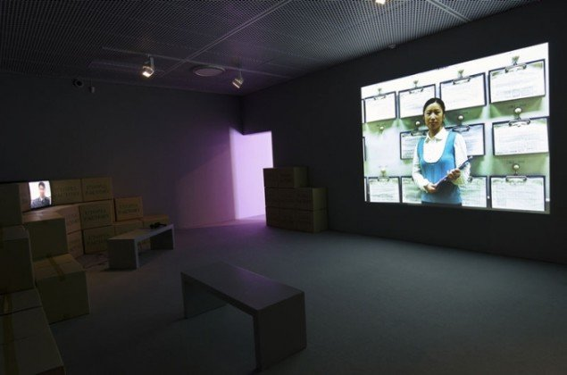 Cao Fei: Whose Utopia - My Future Is Not a Dream, 2006, installationsview. (Foto: Anna Rowland)