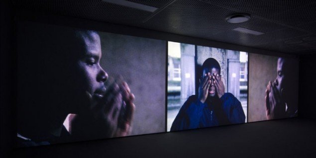 Isaac Julien: Paradise Omeros, 2002, installationsview. (Foto: Anna Rowland)